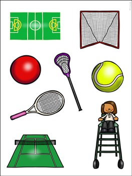 Sort and Stick: Sports