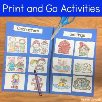 Sort by Category Sorting Printables for PreK, Kindergarten, and 1st Grade
