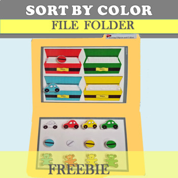 Sort Objects by Color File Folder Activity