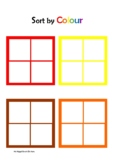 Sort by Colour (Educational Printable Activity)