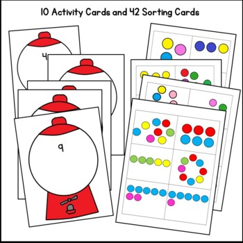 Sort by Count Math Center:  Count Groups to 10:  K Module 4:  K.MD.3, K.CC