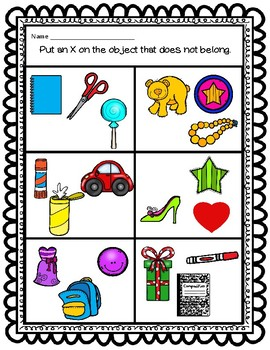 Sort by Property: Color and Shape CCSS Aligned Worksheets FREEBIE
