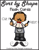Sort by Shape Flash Cards