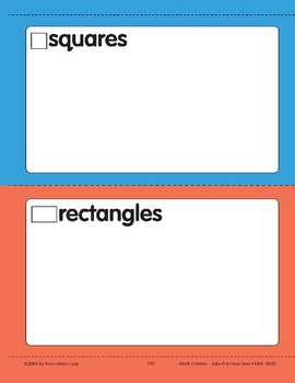 Sort by Shapes (Geometric Shapes)