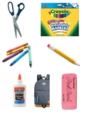 Sort by category - school supplies (1 of 7)