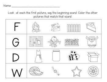 Sort it Out!  Beginning Sound Fun {Differentiated Phonemic Centers & Printables}
