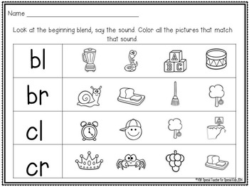 **Sort it Out!  Blends & Digraphs {Differentiated Phonemic Centers & Printables}