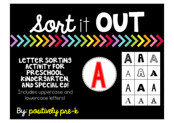 Sort it Out: Letter Sorting Activity