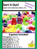 Sort it Out!  Letters A-Z (Uppercase and Lowercase) Cooper