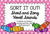 Short and Long Vowel Sound Sort {Sort it Out!}