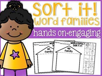 Sort it: Word Family Houses