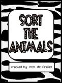 Sort the Animals Activity