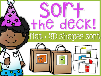Sort the Deck: Shapes