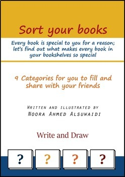 Sort your books - Activity for students to help them sort their favorite books