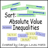 Solve Absolute Value Inequalities-Compound Inequality-Graphs-Review Activity