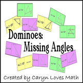 Finding Missing Angles of Triangle&Parallel Lines Activity