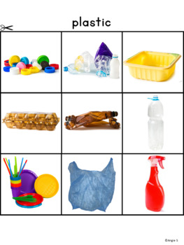 Sorting Activities Bundle for Special Education and Speech Therapy Set 1