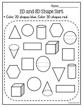 Sorting 2D & 3D Shapes: Super Shapes Unit Part 4