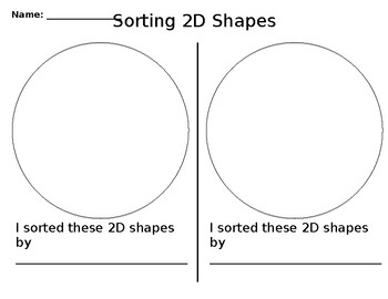 Sorting 2D Shapes