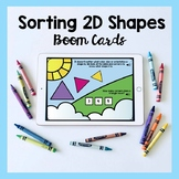 Sorting 2D Shapes Boom Cards