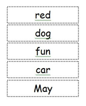 Sorting 3 Letter and 4 Letter Words Freebie