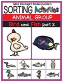 Sorting Activities Animal Group Bird and Fish Part 2