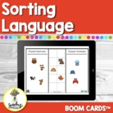 Sorting Activities - Basic Concepts - Boom Cards Speech Therapy - Teletherapy