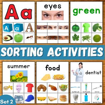 Sorting Activities Bundle Set 2