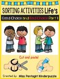 Sorting Activities Life's Good Choice and Bad Choice Part 1