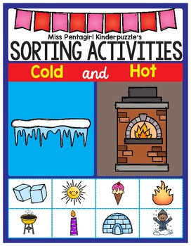 Sorting Activities Posters and Worksheets Cold and Hot