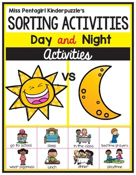 Sorting Activities Posters and Worksheets Day and Night