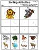 Sorting Activities Posters and Worksheets Fast and Slow Animals