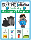 Sorting Activities Posters and Worksheets Garbage and Recycle