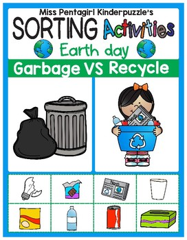 sorting activities posters and worksheets garbage and recycle tpt. Black Bedroom Furniture Sets. Home Design Ideas