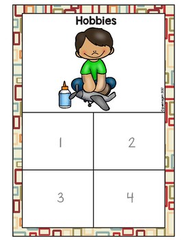 Sorting Activities Posters and Worksheets Hobbies and Routines
