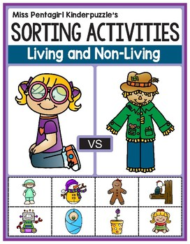 Sorting Activities Posters and Worksheets Living and Non-Living