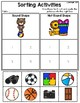 Sorting Activities Posters and Worksheets Round Shape and