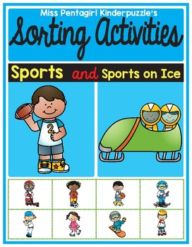 Sorting Activities Posters and Worksheets Sports and Sports on Ice