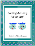 "Grammar Sorting Activity: ""Is"" or ""Are"""