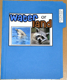 "Sorting Activity: ""Water or Land Animal Sort File Folder Game"""