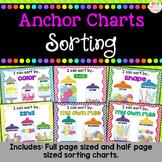 Sorting - Anchor Charts