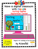 Sorting Apples - September Center (in Google: Digital and Interactive)