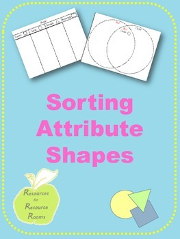 Sorting Attribute Shapes