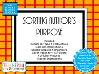 Sorting Author's Purpose