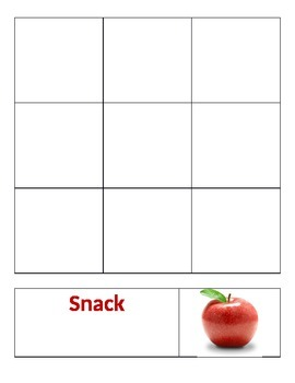Sorting - Balanced Meal vs. Snacks