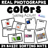 Sorting Basic Categories Photographs Mats- COLORS Edition