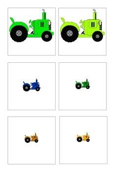 Sorting Big/Little Tractor