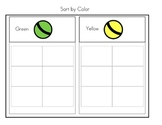 Sorting Boards: Color, Shape, Category (Special Needs, Autism, Pre-School)