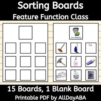 Sorting Boards - Feature Function Class - by AllDayABA