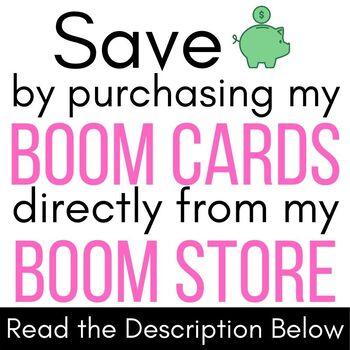 Sorting Boom Cards  (Digital Task Cards)